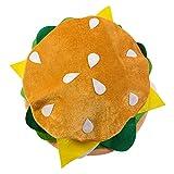 Food Hats - Pizza Hamburger Hot Dog Costume Party Dress Up By Funny Party Hats (Hamburger Hat)