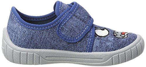 Superfit Bill, Zapatillas de estar Por Casa Para Niños Blau (Water)
