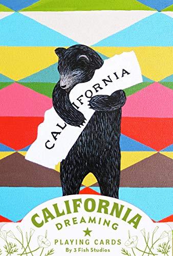California Dreaming Playing Cards (California Gifts, Novelty Playing Cards, California Deck of Cards) ()