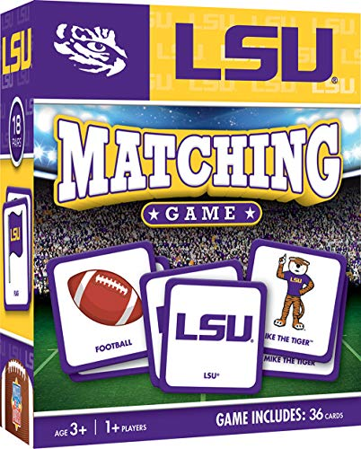 (MasterPieces NCAA LSU Tigers Matching Game )