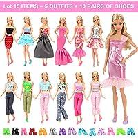 BARWA Lot 15 Items 5 Sets Fashion Casual Wear Clothes...