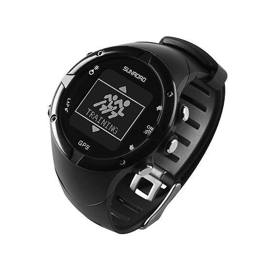 Rikey SUNROAD Bluetooth GPS GPS con SmartWatch para Hombre, 5 ...