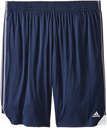 adidas Men's 3G Speed Short Collegiate Navy/Lead/White Shorts MD (Adidas Blue Basketball Shorts)