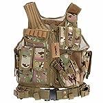 Lixada Armée Tactique Vest extérieure CS Champ Swat air de Jeu de Guerre Cosplay de Counter Strike Jeu Chasse Camping… 6