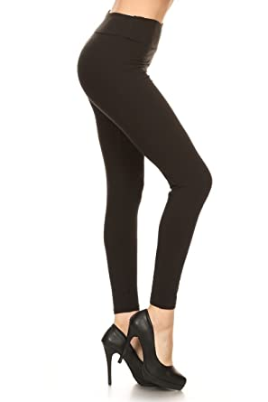 Higher Waist Womens Buttery Soft Solid Yoga Leggings 22 Colors