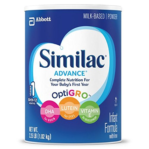 Similac Advance Stage 1 Baby Formula - Powder- 1.93 lb