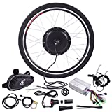 "5. JAXPETY 36V 500W Electric Bicycle Cycle 26"" E Bike Front Wheel Ebike Hub Motor Conversion Kit Hub Motor Wheel"