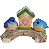 Westland Giftware Mwah! Bluebirds 3-3/4-Inch Magnetic Toothpick and Salt and Pepper Set
