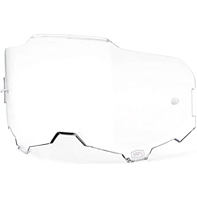 100% Injected Replacement Goggle Lens-Armega-Clear: Automotive