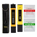 XCSOURCE Professional TDS EC Tester pH Meter Digital Temp PPM Check Water Quality Purity for Filter Pool Aquarium Hydroponic BI670