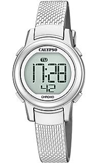 a59e7970fdf3 Calypso Reloj Digital para Mujer de Cuarzo con Correa en Plástico K5736 1