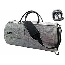 KEYNEW Travel Duffel Bag Waterproof Shoes Compartment For Men