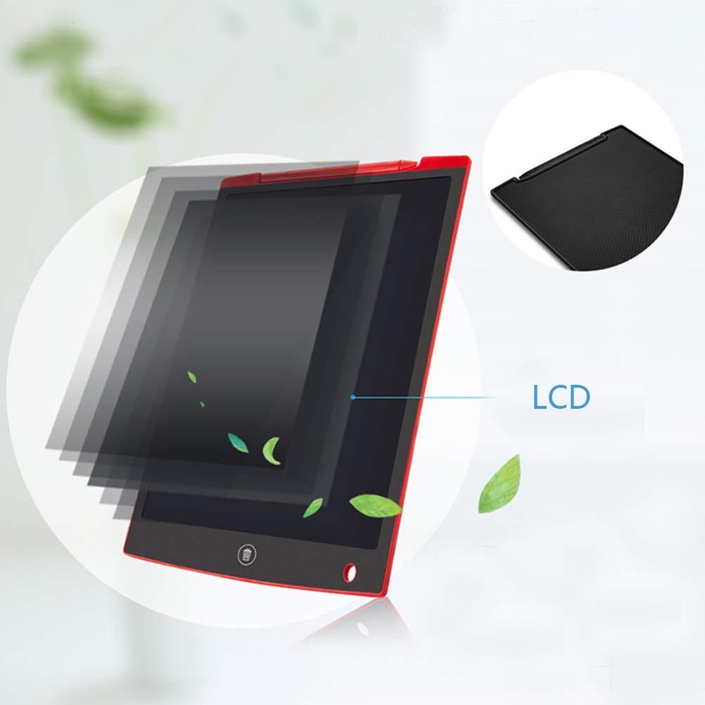 Senza Carta Kinner Lavagna per Scrivere con Schermo LCD Ideale Come Regalo Blu Caratteri pi/ù Luminosi con Funzione Anti Clearance e Linee Spesse magneti Stringhe e pennarelli