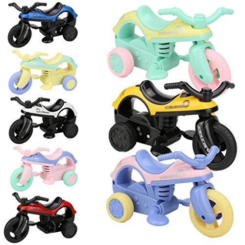 (Mini Vehicle Pull Back Bike with Big Tire Wheel Creative Gifts for Kids)