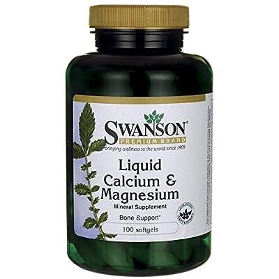 Swanson Liquid Calcium & Magnesium Sgels
