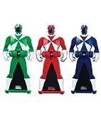 power ranger morphers lightspeed - Power Rangers Super Megaforce - Lightspeed Rescue Legendary Ranger Key Pack, Red/Blue/Green