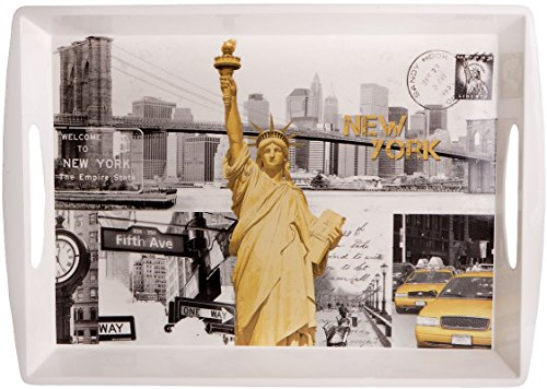 Home Essentials 68712 Master Fifth Ave Rectangle Melamine - 5th Ave New York