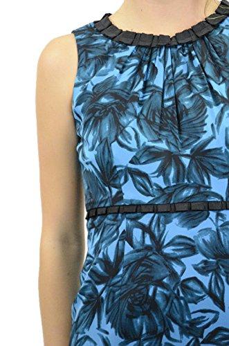 Gaine Soie Garniture De Ruban De Femmes Donna Robe Dans Ricco Floral Forêt Tropicale, 6