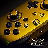 SopiGuard Avery Rising Sun Color Shift Precision Edge-to-Edge Coverage Vinyl Skin for Nintendo Switch Pro Controller