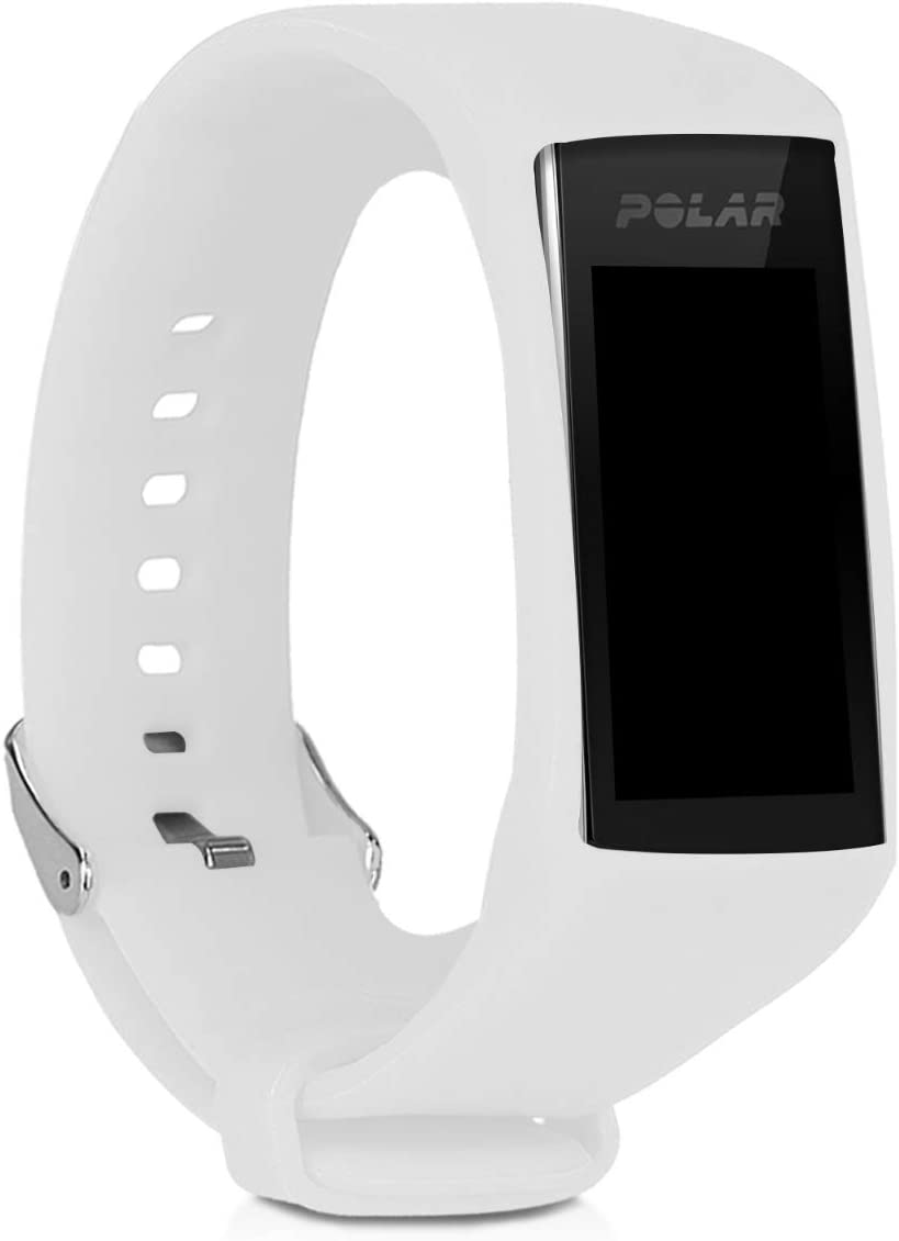 Silicone Watch Strap Compatible with Polar A360 / A370 - Fitness Tracker Band with Clasp -
