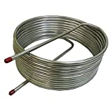 Herms Coil 1/2'' Stainless Steel X 50' Length - 16''