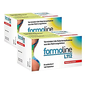 Double Pack Formoline Fat Binder L112 160 Tablets Amazon Co Uk
