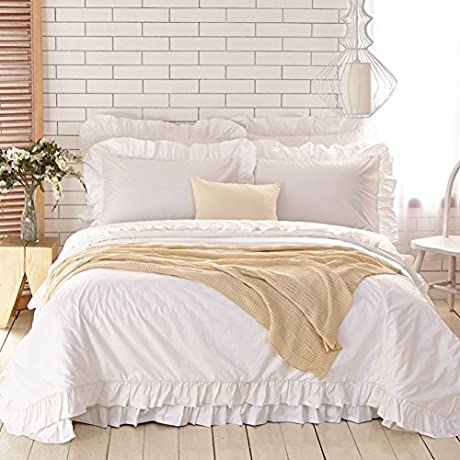 Egyptian Cotton Four Piece Korean Soft Intimate Bedding A Queen1