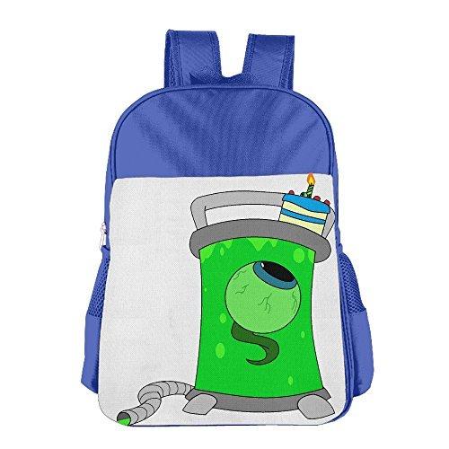 JXMD Custom Jacksepticeye Children School Backpack For 4-15 Years Old (Ratatouille Baby Costume)