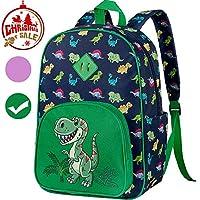 Preschool Backpack, Little Kids Unicorn Dinosaur Backpacks for Boys and Girls
