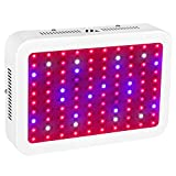 LED Grow Light, JADISI 1000W Full Spectrum Growing Lamps with UV&IR for Greenhouse Hydroponic Indoor Plants Veg and Flower All Phases of Plant Growth (10W Leds 100pcs)