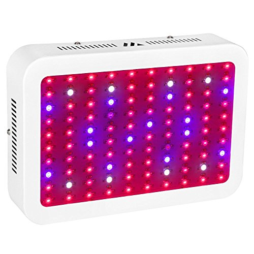 LED Grow Light, JADISI 1000W Full Spectrum Growing Lamps with UV&IR for Greenhouse Hydroponic Indoor Plants Veg and Flower All Phases of Plant Growth (10W Leds 100pcs) by Jadisi