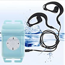 Y&M(TM) New 100% IPX8 Waterproof MP3 Player 8GB Head Wearing Sport MP3 Player FM Radio Music Player For Swimming Running Surfing Diving Sport