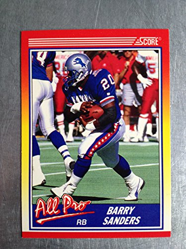 - 1990 Score Football 580 Barry Sanders NM/M (Near Mint/Mint)