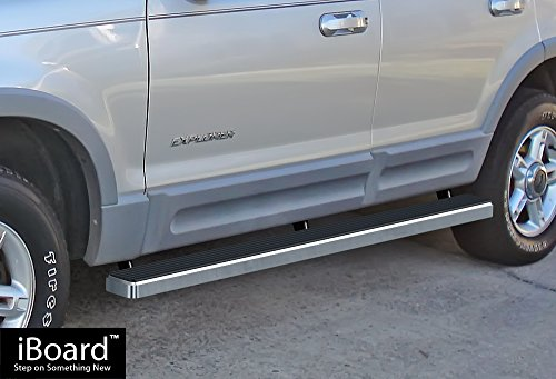 - iBoard Running Boards (Nerf Bars | Side Steps | Step Bars) For 2002-2005 Ford Explorer Sport Utility 4-Door | (Silver 4 inches)