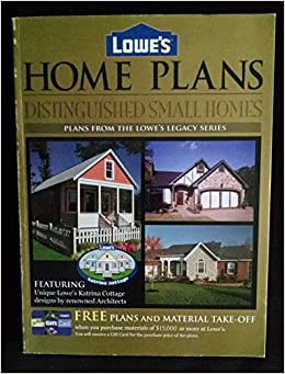 Lowe's Home Plans Distinguished Small Homes (Plans from the Lowe's on most popular one story house plans, ranch house plans, lowe's katrina home plans, lowes tiny house plans,