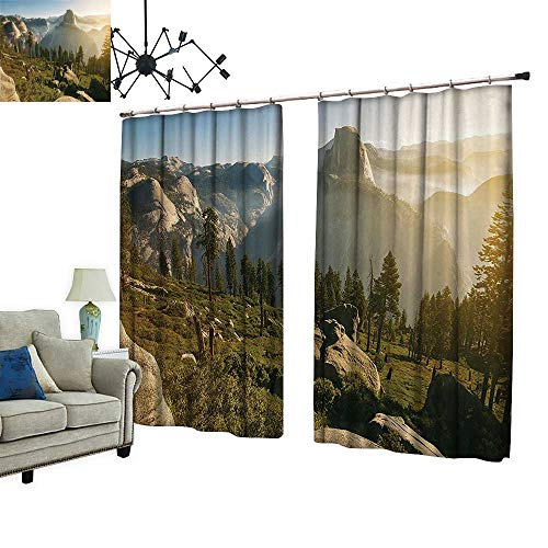 PRUNUS Thermal Insulated Drapes with Hook Yosemite for sale  Delivered anywhere in Canada