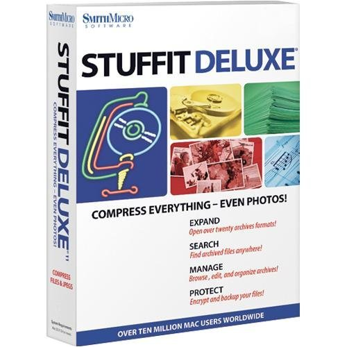 Aladdin Stuffit Deluxe - StuffIt Deluxe 11.0