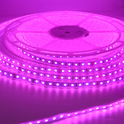 RGB LED Strip Light 20 Meters (65.6 ft) Flexible Color Changing Colorful SMD5050 1200 LEDs Light Strip 24V LED Strip Lights (IP67 Casing Waterproof) by S NMT (Image #6)