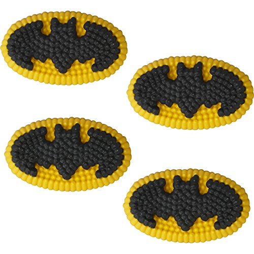 Wilton Batman Icing Decorations Multicolor product image