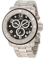 Invicta Mens 12400 Sea Hunter Chronograph Black Dial Watch