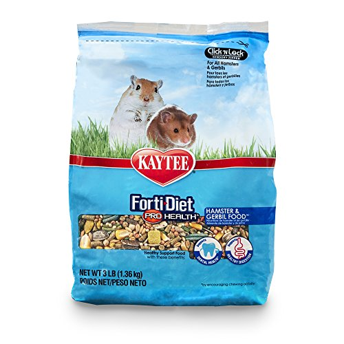 Kaytee Forti Diet Pro Health Hamster Food, 3-Pound ()