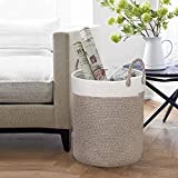 Woven Basket Rope Storage Baskets - Large Cotton