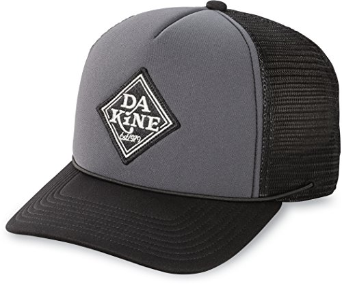 Dakine Lock Down Trucker Cap One Size Black Charcoal