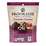 BROOKSIDE Dark Chocolate Crunchy Clusters, Berry Medley, 5 Ounce (Pack of 12)