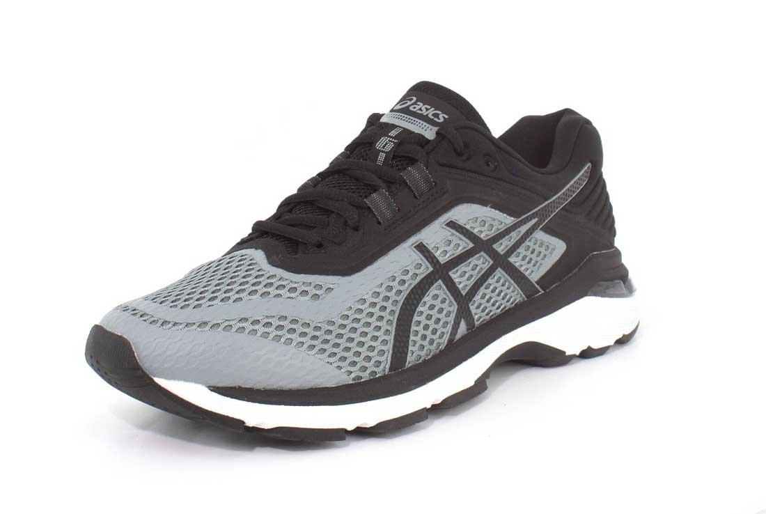 ASICS GT-2000 6 Men's Running B072FQ5T54 12.5 EEEE US|Stone Grey/Black/White