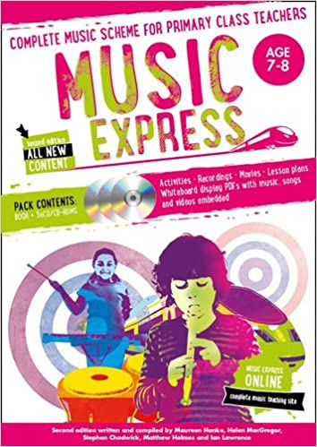 Libro Epub Gratis Music Express – Music Express: Age 7-8 (book + 3cds + Dvd-rom): Complete Music Scheme For Primary Class Teachers