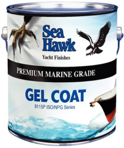 Sea Hawk Premium Quality Gel Coat, Clear Qt. NPG6000-QT (Marine Coat Clear)