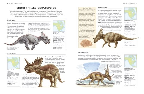 The Complete Book Of Dinosaurs The Ultimate Reference To border=
