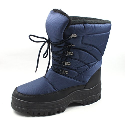 7702 Mens Lace Up Snow Boots product image