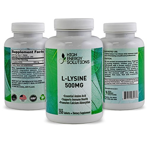 amino acid supplements benefits high energy solutions l lysine value sized 250 tablet 17711